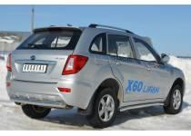 Защита заднего бампера d76 для Lifan X60 (2011-)