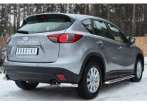 Уголки d63 для Mazda CX5 (2012-)