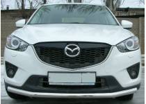 Защита переднего бампера d60 для Mazda CX5 (2012-)