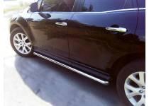 Пороги труба d53 для Mazda CX-7 (2006-2010)