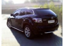 Защита заднего бампера d53 для Mazda CX-7 (2006-2010)