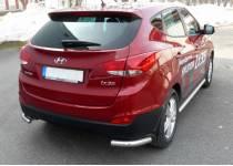Защитные уголки Metec для Hyundai IX35 (2009-2015)