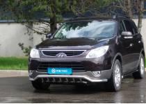 Защита переднего бампера Metec для Hyundai IX55 (2006-)