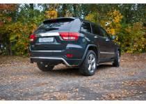 Защита заднего бампера Metec для Jeep Grand Cherokee (2011-2013)