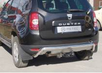 Защита заднего бампера Metec для Renault Duster