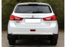 Защита заднего бампера d60 для Mitsubishi ASX (2010-2012)