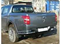 Уголки двойные d60/42 для Fiat Fullback (2016-)