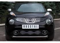 Защита переднего бампера d76 для Nissan Juke 4x4 (2011-)