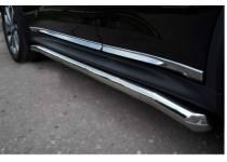 Защита порогов d63 для Nissan Juke 4x4 (2011-)