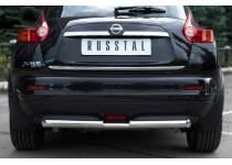"Защита заднего бампера ""ступень"" d63/42 для Nissan Juke 4x4 (2011-)"