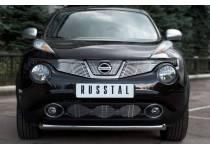 Защита переднего бампера d63 для Nissan Juke 4x4 (2011-)