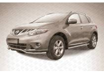"Защита переднего бампера ""волна"" d57 для Nissan Murano (2010-2015)"