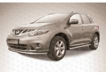 Защита переднего бампера d57 для Nissan Murano (2010-2015)