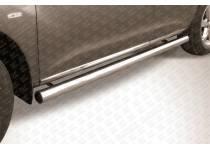 Пороги труба d76 для Nissan Murano (2010-2015)