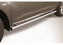 Пороги труба d57 для Nissan Murano (2010-2015)