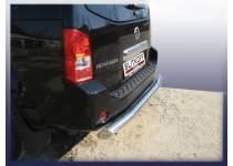 Защита заднего бампера d76 для Nissan Pathfinder (2005-2010)