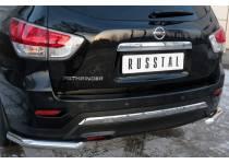 Уголки d63 для Nissan Pathfinder (2014-)