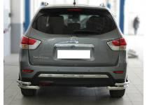 Уголки d60/42 для Nissan Pathfinder (2014-)