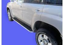 Защита штатных порогов d42 для Nissan Patrol (2006-2010)