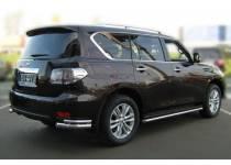 Защита штатных порогов d53 для Nissan Patrol (2010-2013)