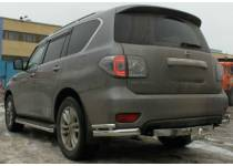 Уголки d76/43 для Nissan Patrol (2014-)
