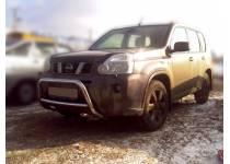 Кенгурятник низкий d60 для Nissan X-Trail (2007-2011)