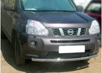 Защита переднего бампера d60 для Nissan X-Trail (2007-2011)