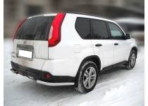 Защита бампера уголки d60 для Nissan X-Trail (2011-2014)