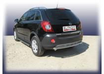 Защита заднего бампера d57 для Opel Antara (2007-2010)
