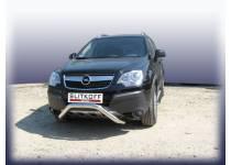 Кенгурятник низкий d76 для Opel Antara (2007-2010)
