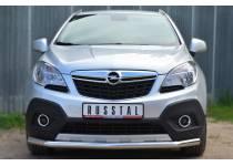 Защита переднего бампера d63 для Opel Mokka (2012-)