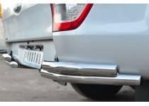 Уголки двойные d76/76 для Ford Ranger T6 (2012-)