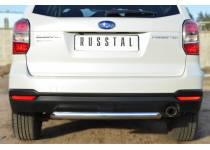 Защита заднего бампера d63 для Subaru Forester (2013-)