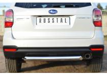 Защита заднего бампера d76 для Subaru Forester (2013-)