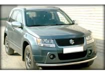 Защита переднего бампера d60 для Suzuki Grand Vitara (5 дв.) (2005-2008)