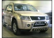 Кенгурятник низкий d53/43 для Suzuki Grand Vitara (5 дв.) (2005-2008)
