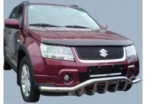 "Защита переднего бампера ""волна"" d60/43 для Suzuki Grand Vitara (5 дв.) (2008-2012)"