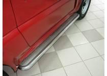 Пороги труба d42 с накладным листом для Suzuki Jimny (2005-2012)