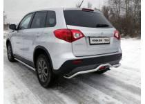 Защита задняя (короткая) 42,4 мм для Suzuki Grand Vitara (2015-)