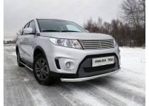 Защита передняя нижняя 60,3 мм для Suzuki Grand Vitara (2015-)