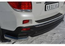 Уголки d76 для Toyota Highlander (2010-2013)