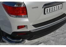 Уголки двойные d76/42 для Toyota Highlander (2010-2013)