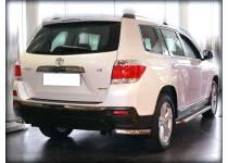Уголки d60 для Toyota Highlander (2010-2013)