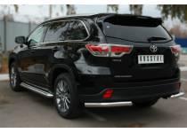 Уголки d63 для Toyota Highlander (2014-)
