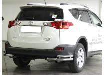 Уголки двойные d53/43 для Toyota Rav4 (2013-2015)