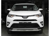 Защита переднего бампера d53 для Toyota Rav4 (2016-)