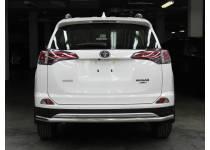 Защита заднего бампера d53 для Toyota Rav4 (2016-)
