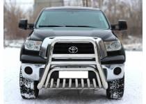 Кенгурятник высокий d101/53 для Toyota Tundra (2007-2013)