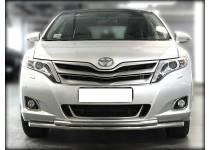Защита переднего бампера двойная d53/42 для Toyota Venza (2013-)