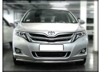 Защита переднего бампера d53 для Toyota Venza (2013-)